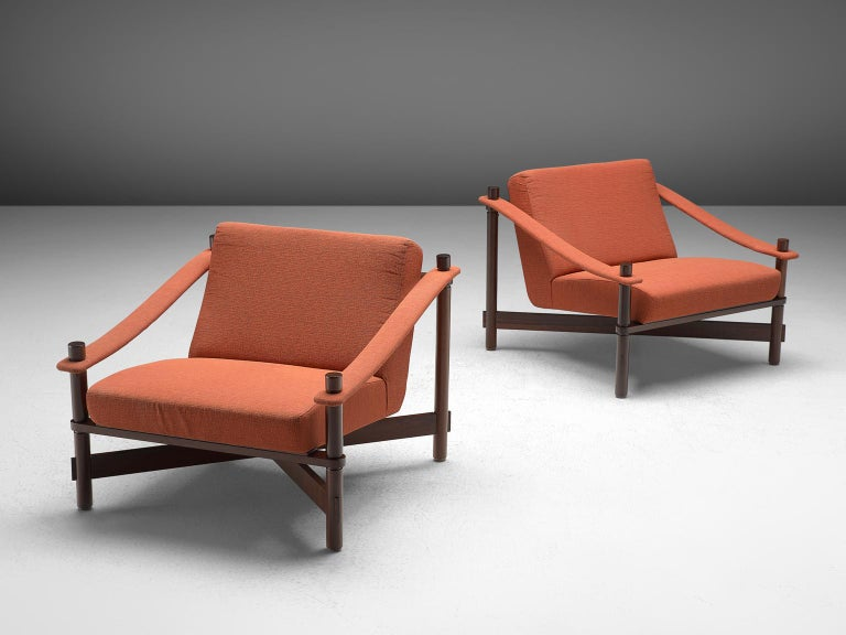 Rafaella Crespi Set of Two Lounge Chairs In Good Condition For Sale In Waalwijk, NL