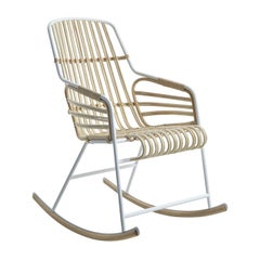 Rafia Rocking Chair by Lucidipevere