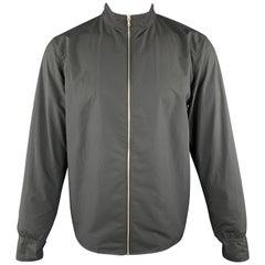 RAG & BONE Size M Black High Collar Full Zip Jacket