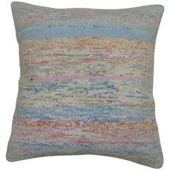 Rag Rug Turkish Pillow