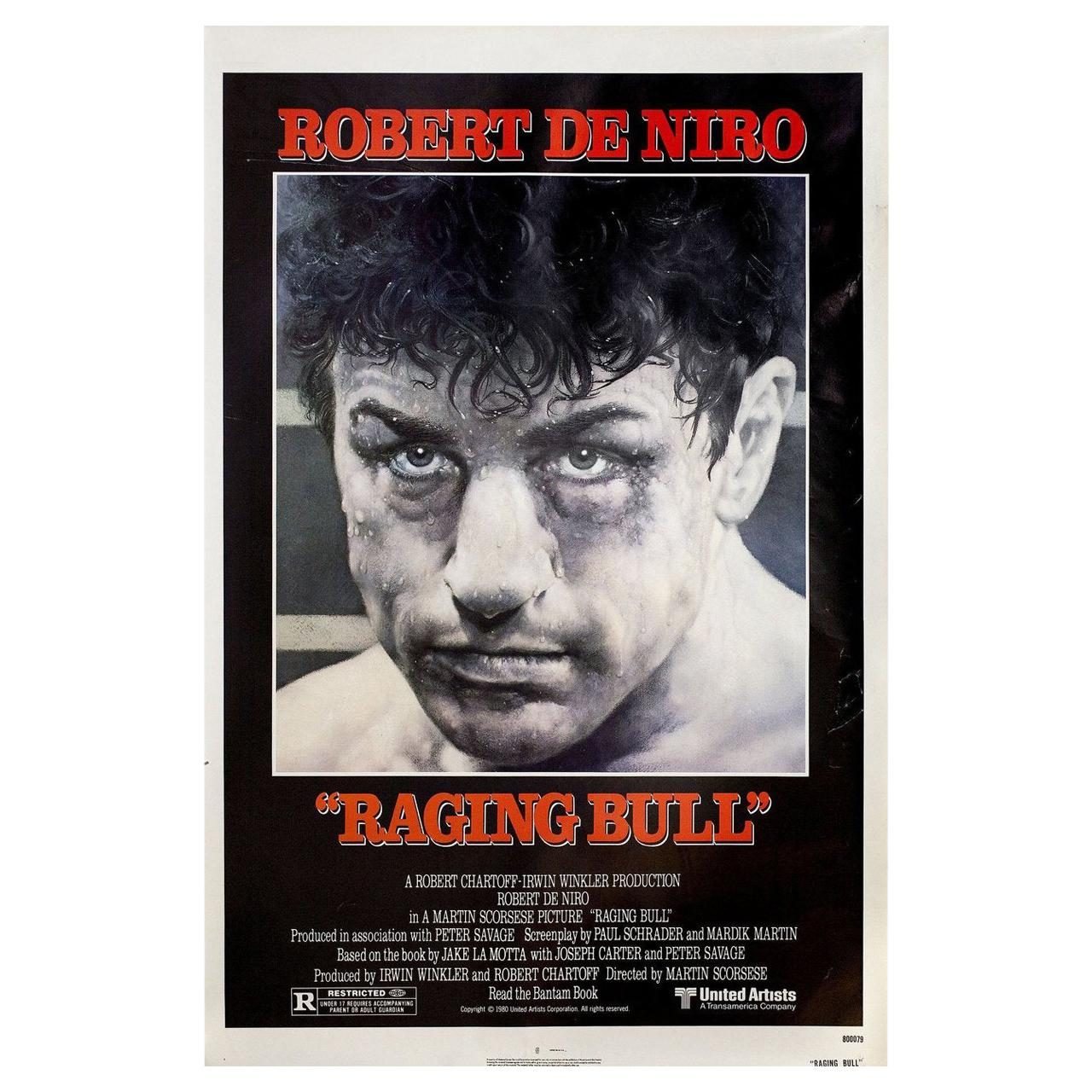 'Raging Bull' 1980 U.S. One Sheet Film Poster