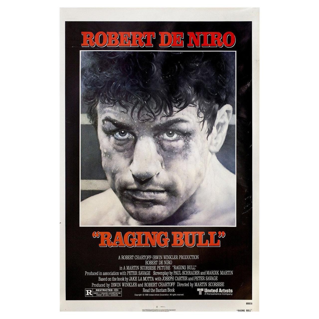 'Raging Bull' 1980 U.S. One Sheet Film Poster