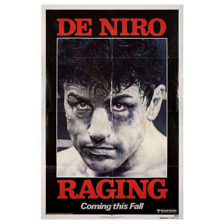 Raging Bull 1980 US One Sheet Film Poster