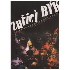 Raging Bull 1987 Czech A3 Film Poster