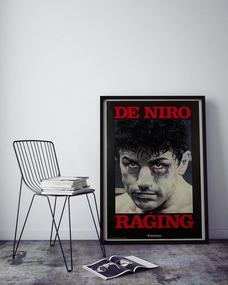 'Raging Bull' Original Vintage Movie Poster, American, 1980 In Excellent Condition In Devon, GB