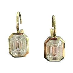 Rahaminov Kaleido 1.85ct Diamond Earrings