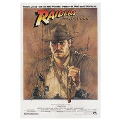 Raiders of the Lost Ark 1981 US Film Poster