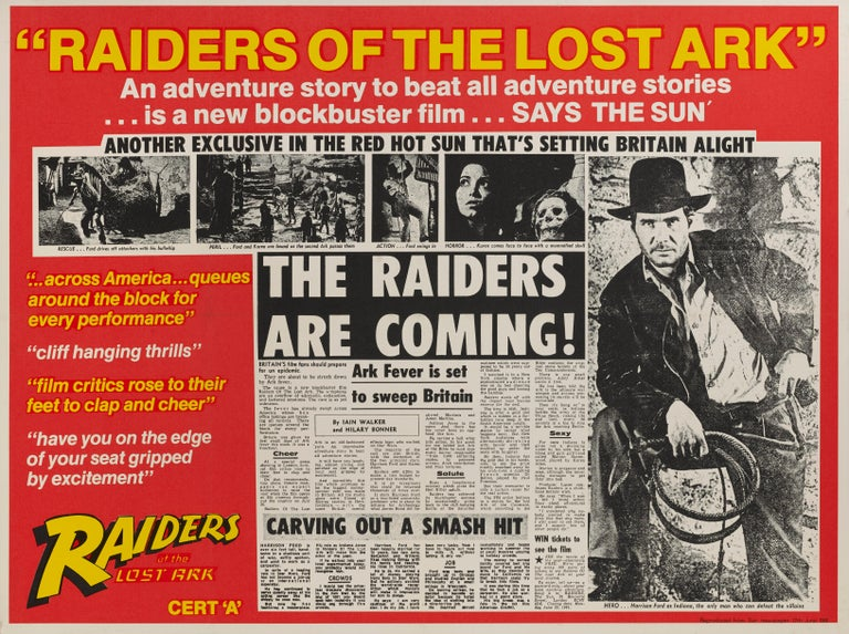 British Raiders of the Lost Ark For Sale