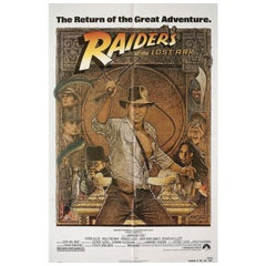 'Raiders of the Lost Ark' R1982 U.S. One Sheet Film Poster