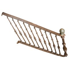 Railing with Banisters, Wrought Iron, 16th Century