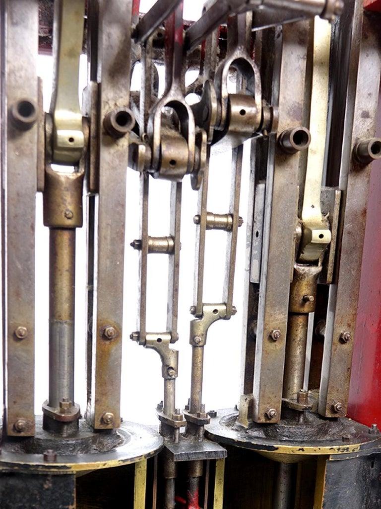 20th Century Railroad Steam Engine Cutaway For Sale