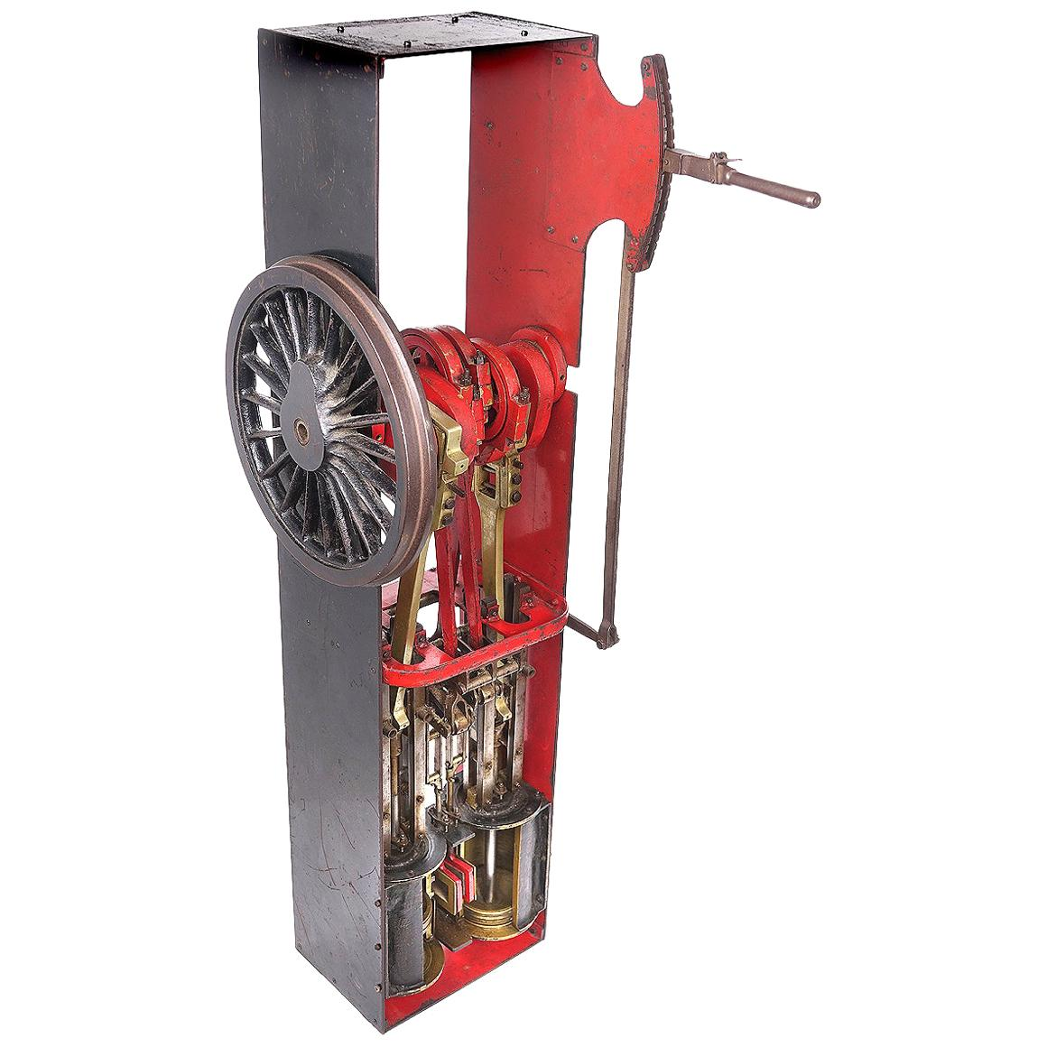 Railroad Steam Engine Cutaway