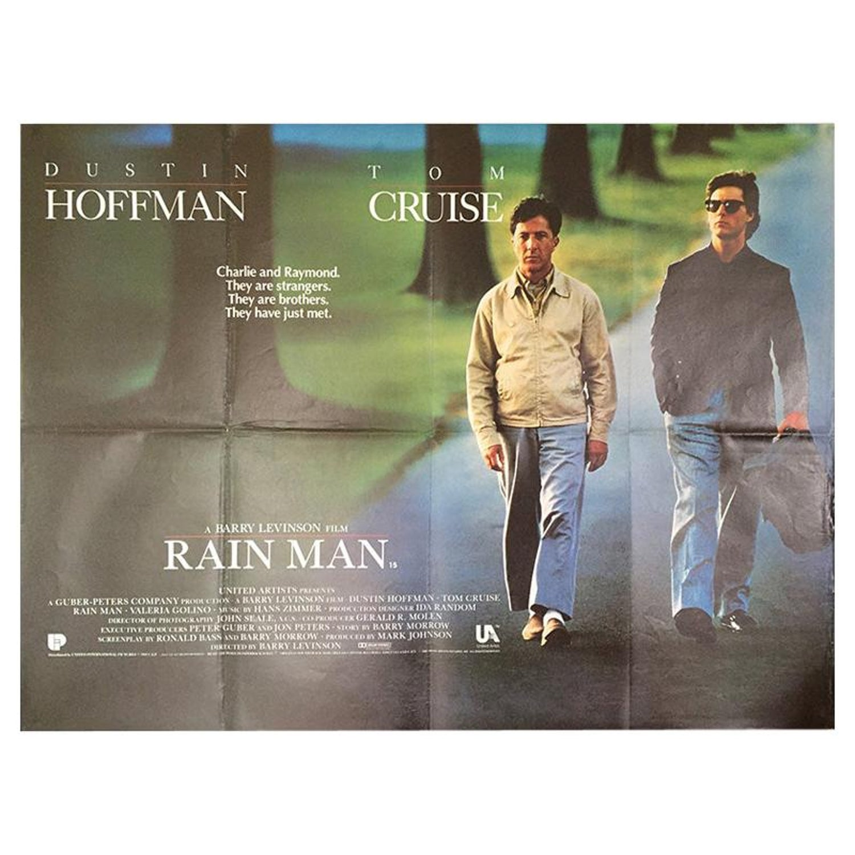 Rain Man 1988 Poster For Sale At 1stdibs