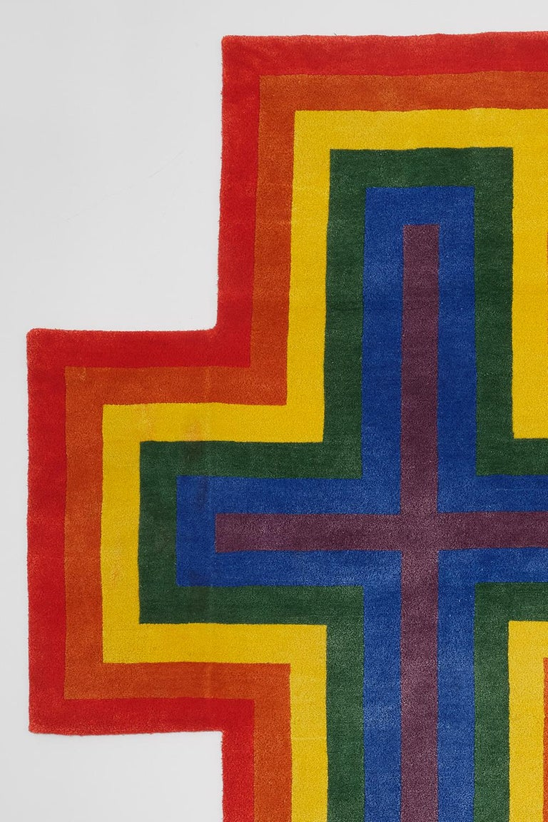 Modern Rainbow Cross for Two For Sale