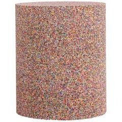 Rainbow Sprinkle Drum by Fernando Mastrangelo