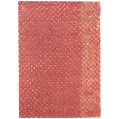 Raindrops Medium Pink Rug by Matteo Cibic