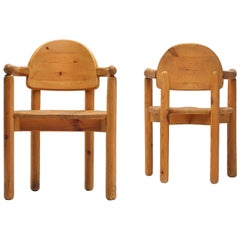Rainer Daumiller Armchairs in Pine
