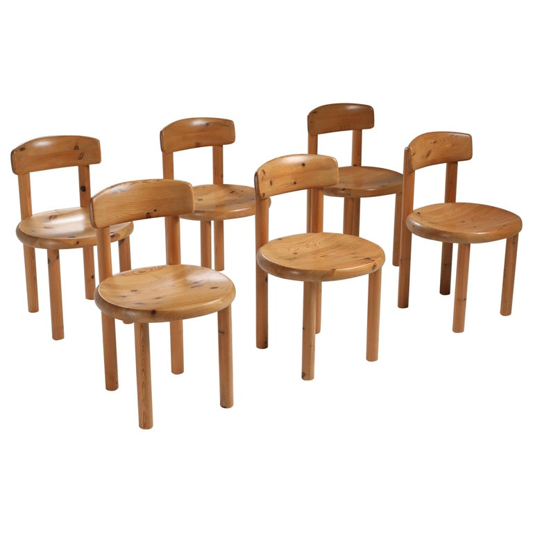 Rainer Daumiller Dining Chairs in Pine 5