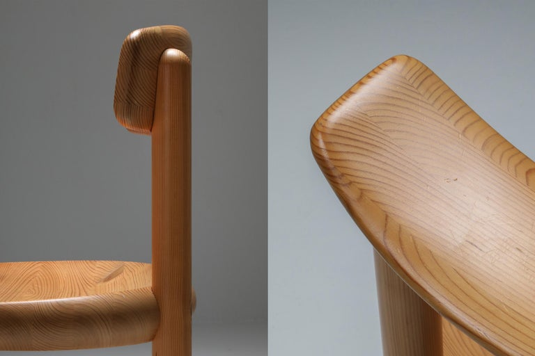 Mid-20th Century Rainer Daumiller Dining Chairs in Pine
