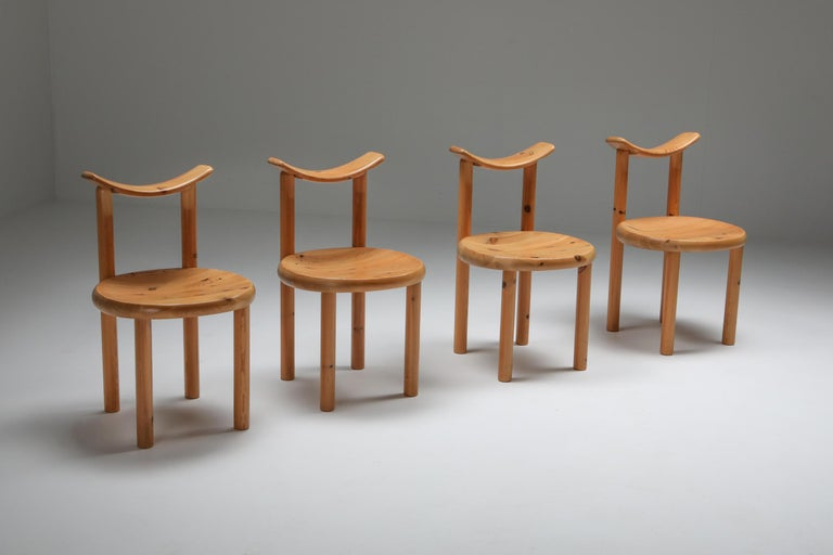 Rainer Daumiller Dining Chairs in Pine 1