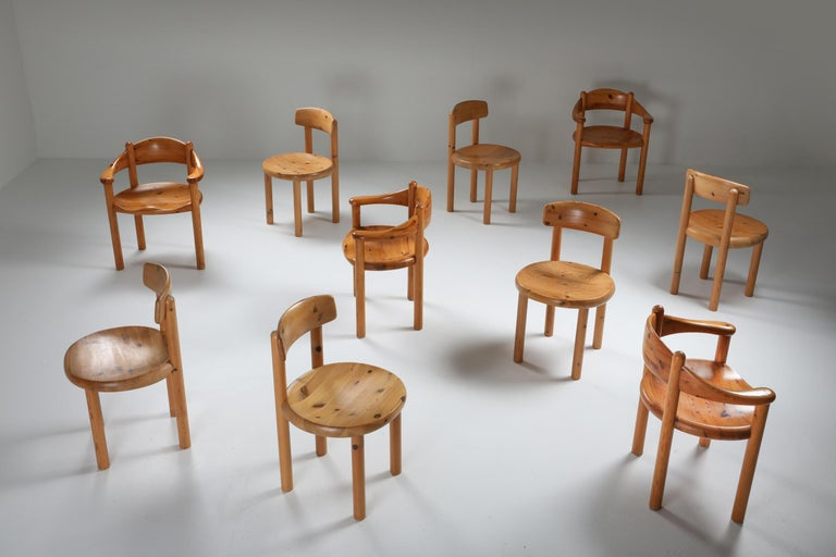Rainer Daumiller Dining Chairs in Pine 2