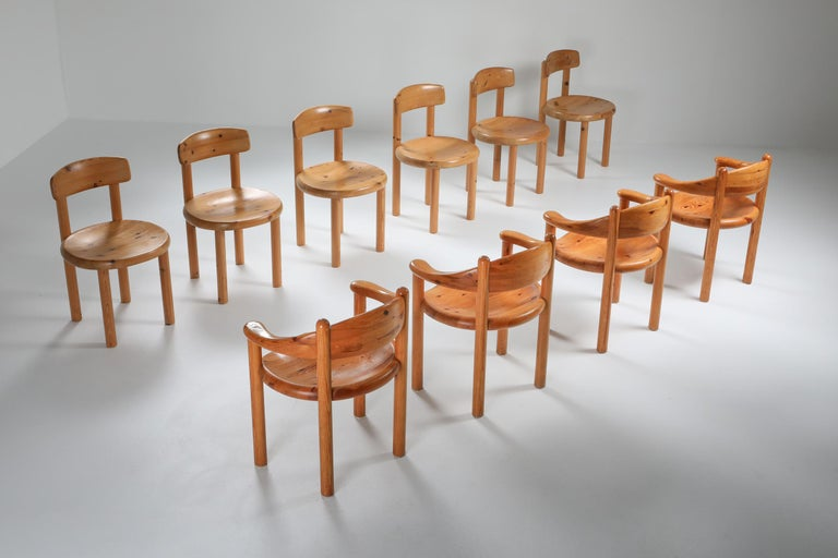 Rainer Daumiller Dining Chairs in Pine 3
