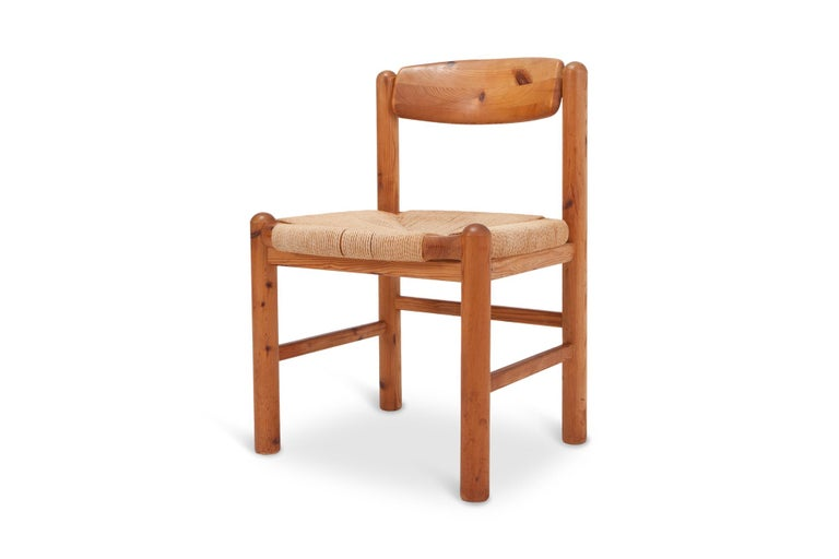 Rainer Daumiller Dining Chairs in Solid Pine, Set of Six  For Sale 7