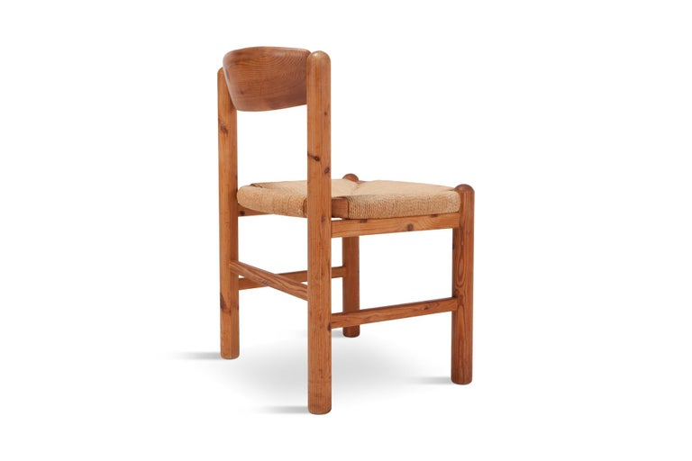Rainer Daumiller Dining Chairs in Solid Pine, Set of Six  For Sale 8