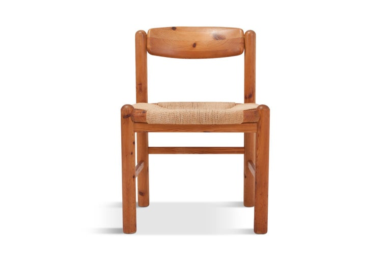Rainer Daumiller Dining Chairs in Solid Pine, Set of Six  For Sale 9