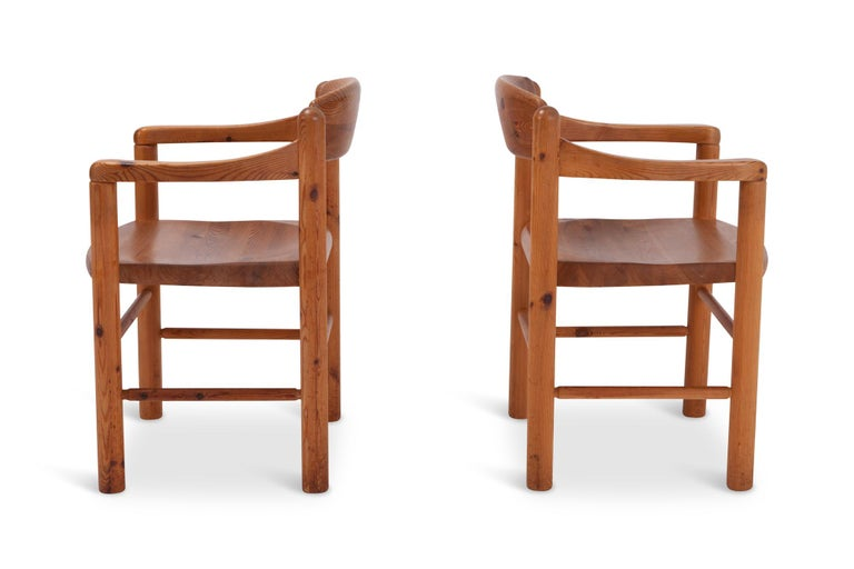 Rainer Daumiller Dining Chairs in Solid Pine, Set of Six  For Sale 1