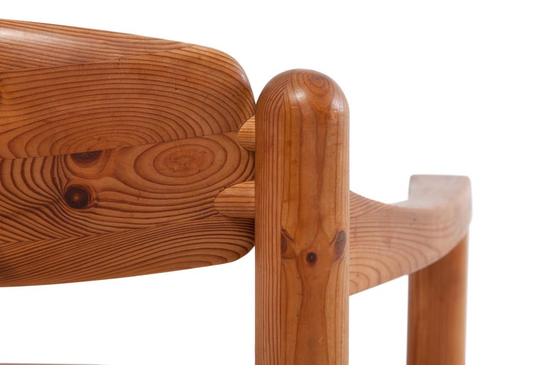 Rainer Daumiller Dining Chairs in Solid Pine, Set of Six  For Sale 3
