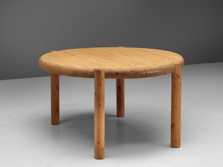 Rainer Daumiller Extendable Dining Table in Pine For Sale 6