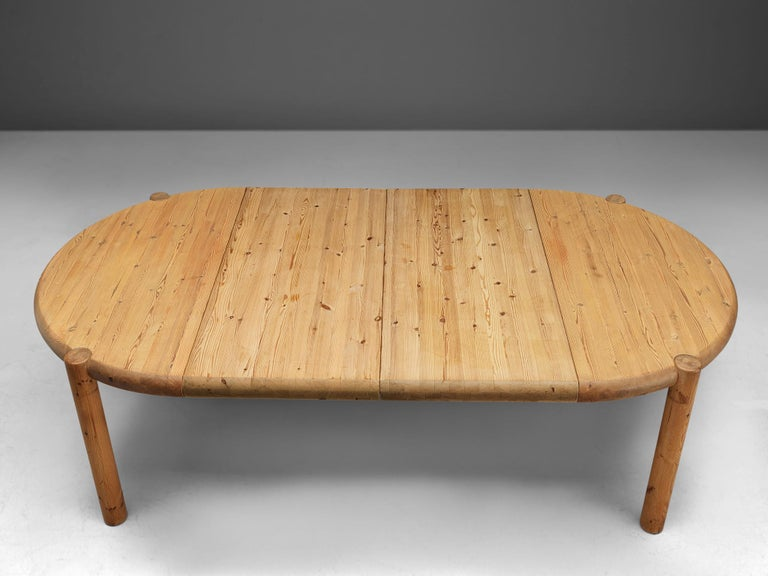 Late 20th Century Rainer Daumiller Extendable Dining Table in Pine For Sale