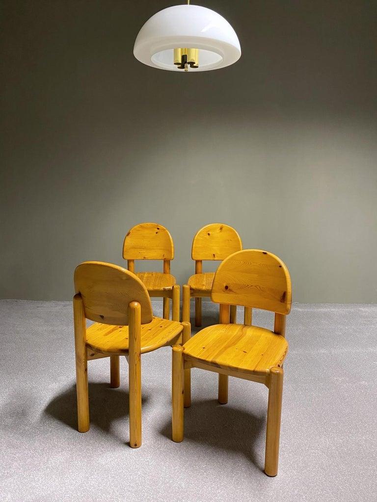 Rainer Daumiller for Hirtshals Savvaerk Dining Set, Solid Pine, 1970s, Denmark For Sale 3