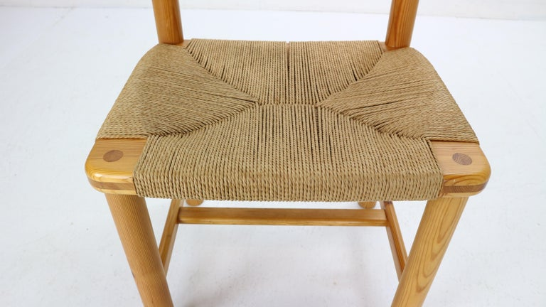 Rainer Daumiller for Hirtshals Sawmill Set of 6 Dining Room Chairs, Denmark 1970 For Sale 6
