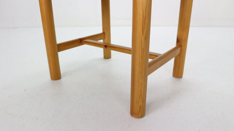 Rainer Daumiller for Hirtshals Sawmill Set of 6 Dining Room Chairs, Denmark 1970 For Sale 9