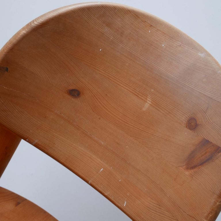 Rainer Daumiller Midcentury Pine Dining Chairs '6' For Sale 4