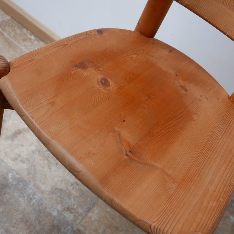 Rainer Daumiller Midcentury Pine Dining Chairs '6' For Sale 5