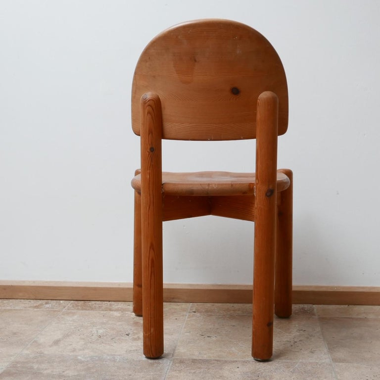 Rainer Daumiller Midcentury Pine Dining Chairs '6' For Sale 9