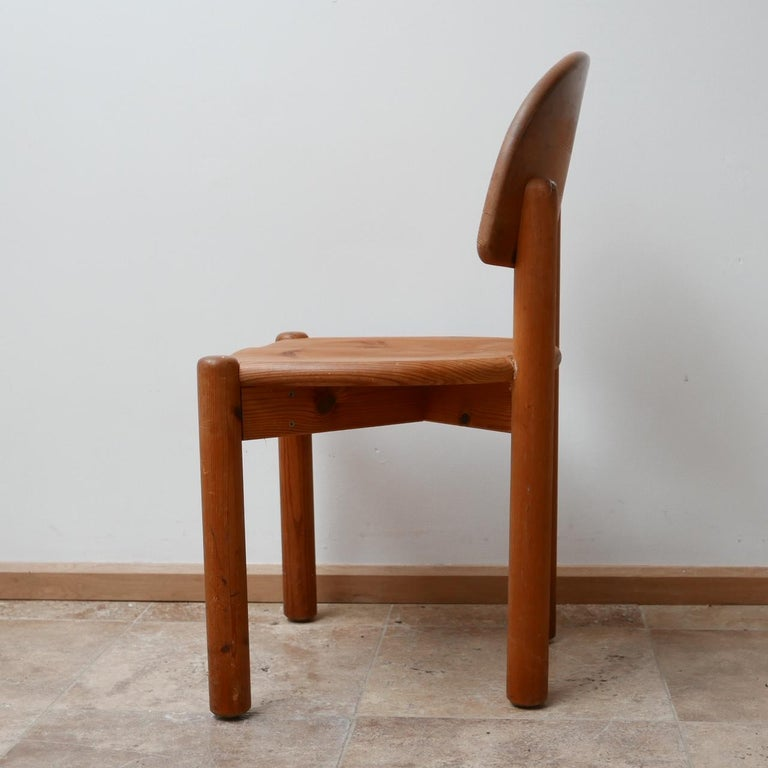 Rainer Daumiller Midcentury Pine Dining Chairs '6' For Sale 10