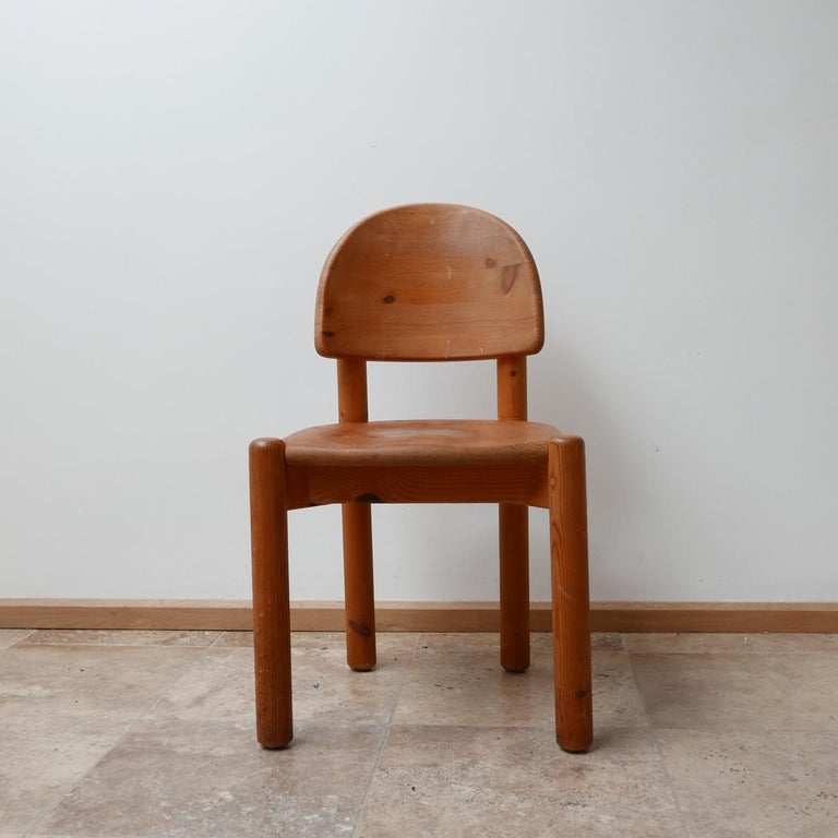 Rainer Daumiller Midcentury Pine Dining Chairs '6' For Sale 13
