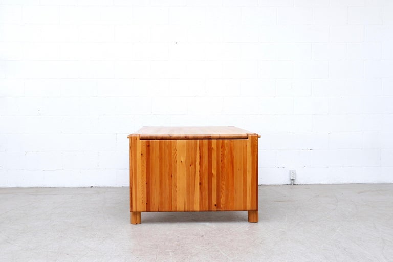 Rainer Daumiller Pine Dining Table with Single Leaf For Sale 2