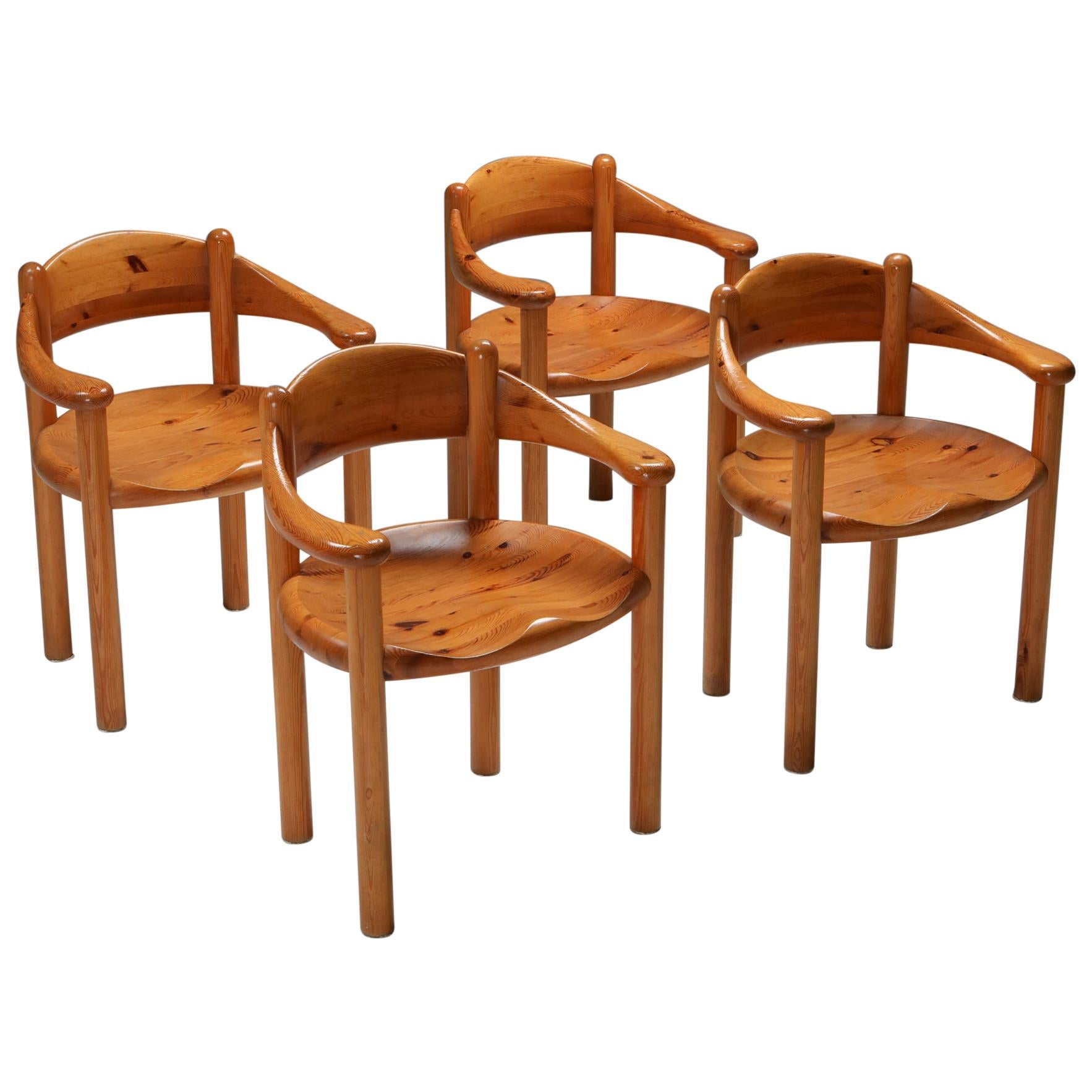 Rainer Daumiller Set of Four Armchairs