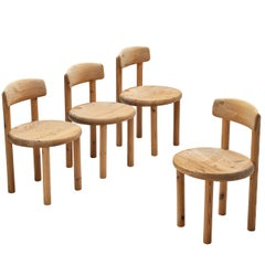 Rainer Daumiller Set of Four Dining Chairs in Pine