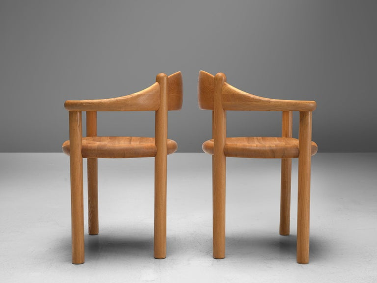Late 20th Century Rainer Daumiller Set of Nine Armchairs in Ash For Sale
