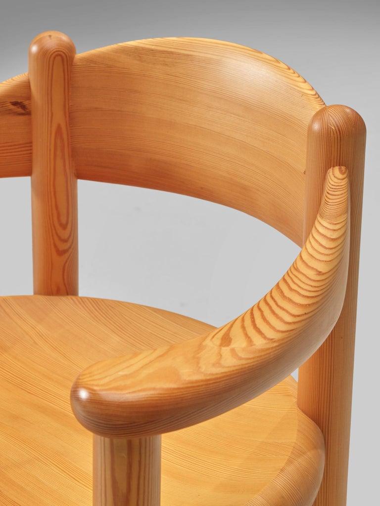 Rainer Daumiller Set of Six Armchairs in Pine 4