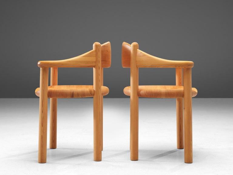 Rainer Daumiller Set of Six Armchairs in Pine 1