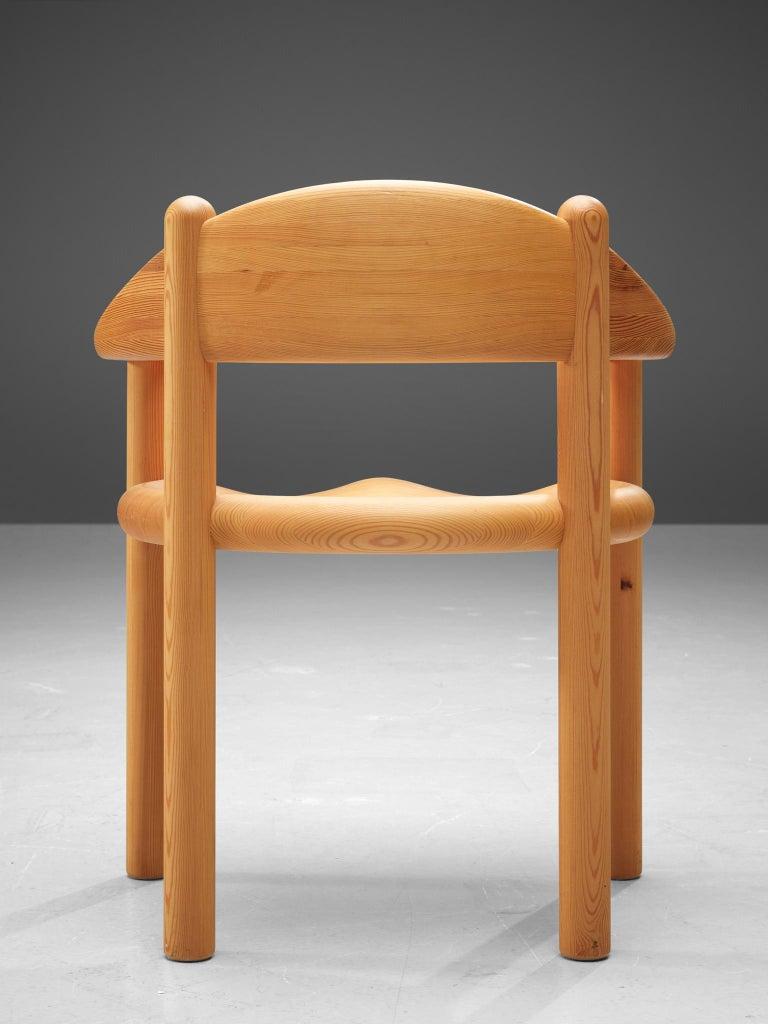Rainer Daumiller Set of Six Armchairs in Pine 2