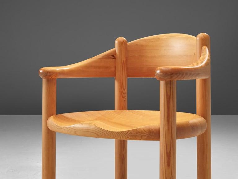Rainer Daumiller Set of Six Armchairs in Pine 3