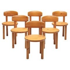 Rainer Daumiller Set of Six Dining Chairs in Pine